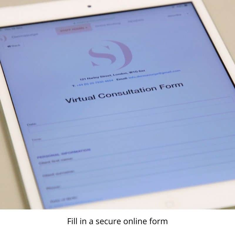 online-dermatology-uk-consultation-fill-in-secure-form